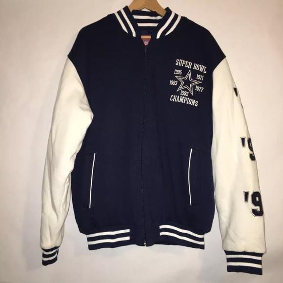 NFL Dallas Cowboys Super Bowl Championship Jacket.  M 5ae7abe91dffdaf9499cf7b8 4c279a7c7